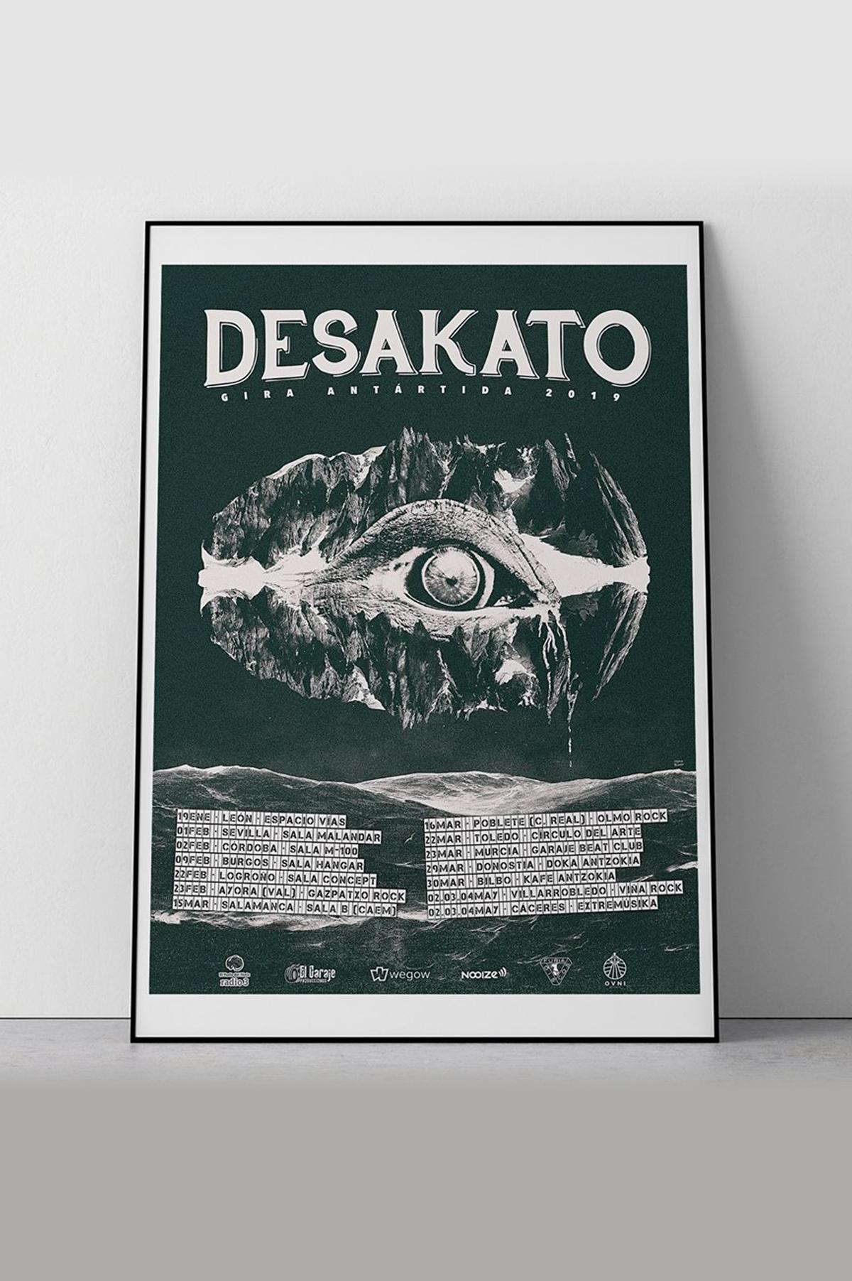 Cartel Desakato 2019
