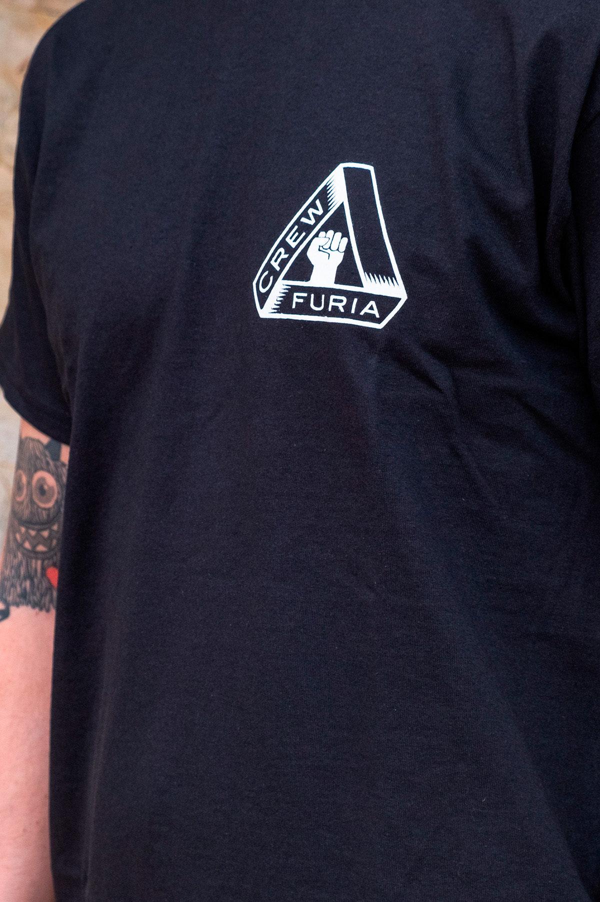 Camiseta Furia Crew Delantera