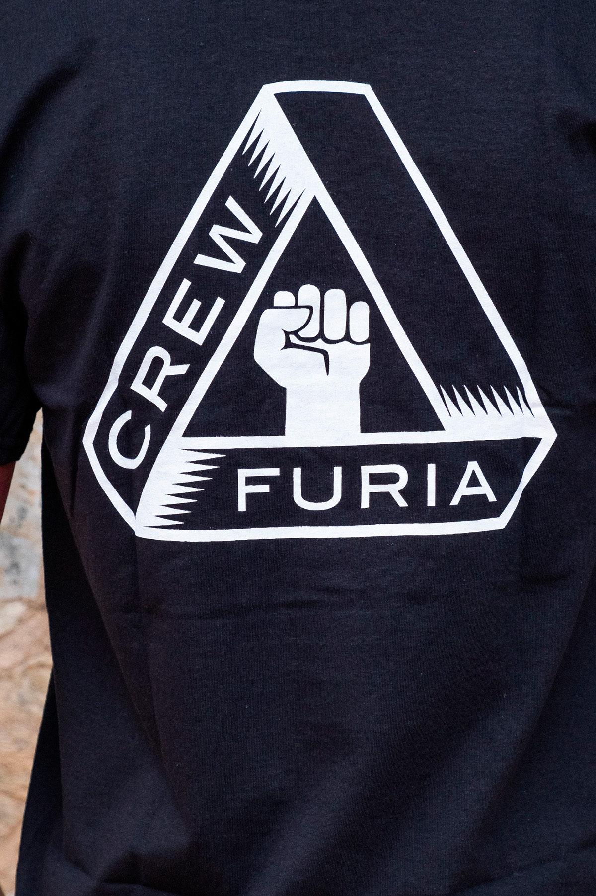 Camiseta Furia Crew Logo