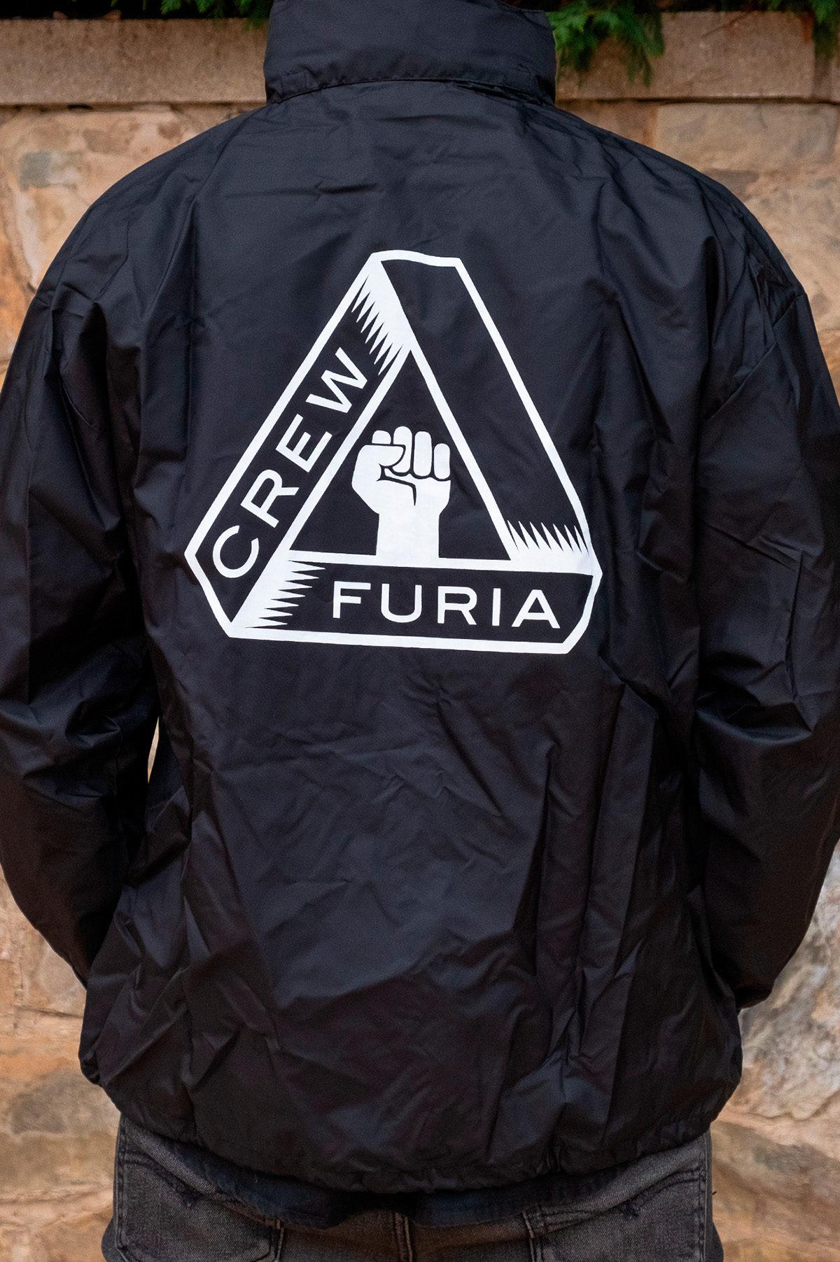 Chubasquero Furia Crew